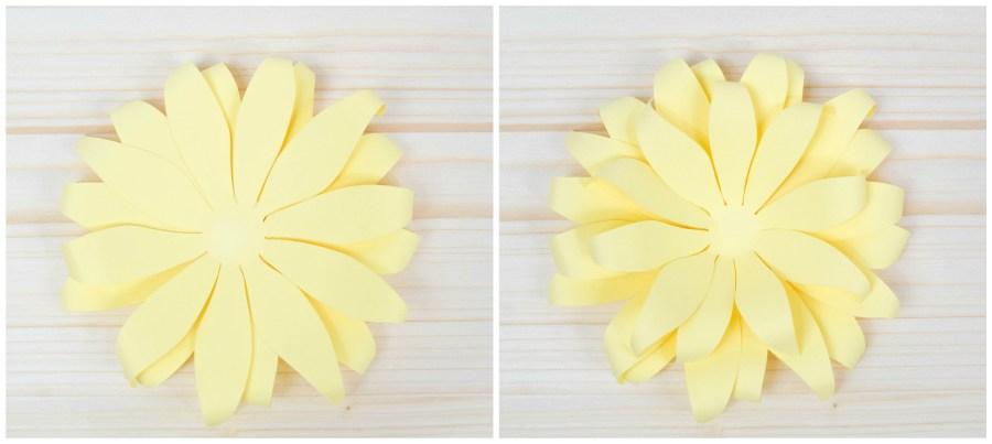 Paper Sunflower Tutorial