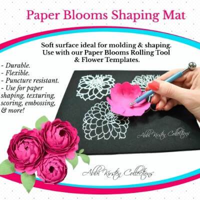 abbi kirsten collections diy paper flower templates projects
