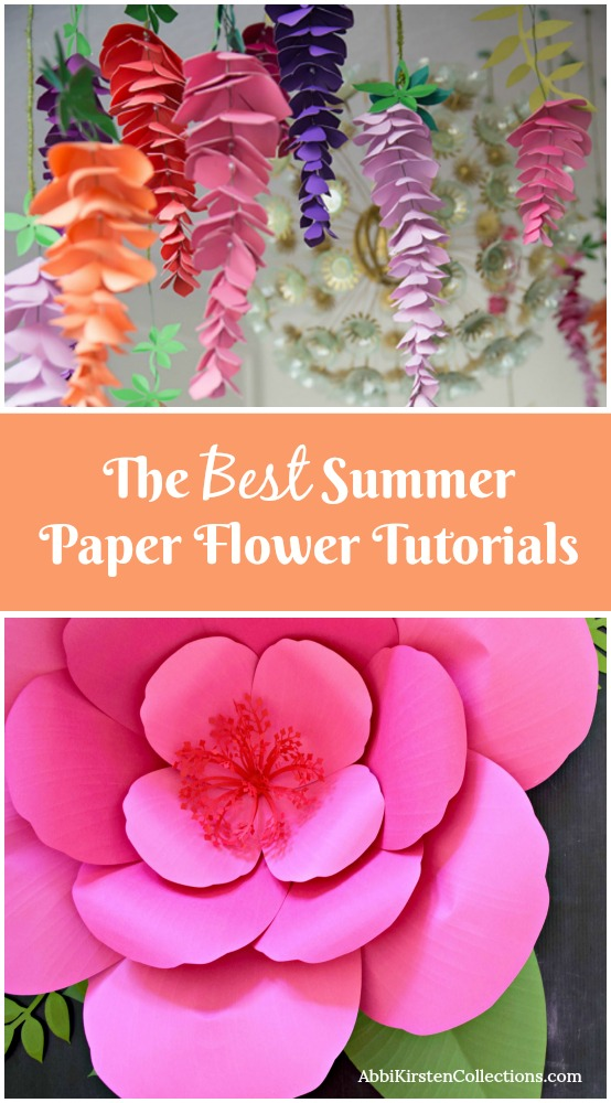The best paper flower tutorials