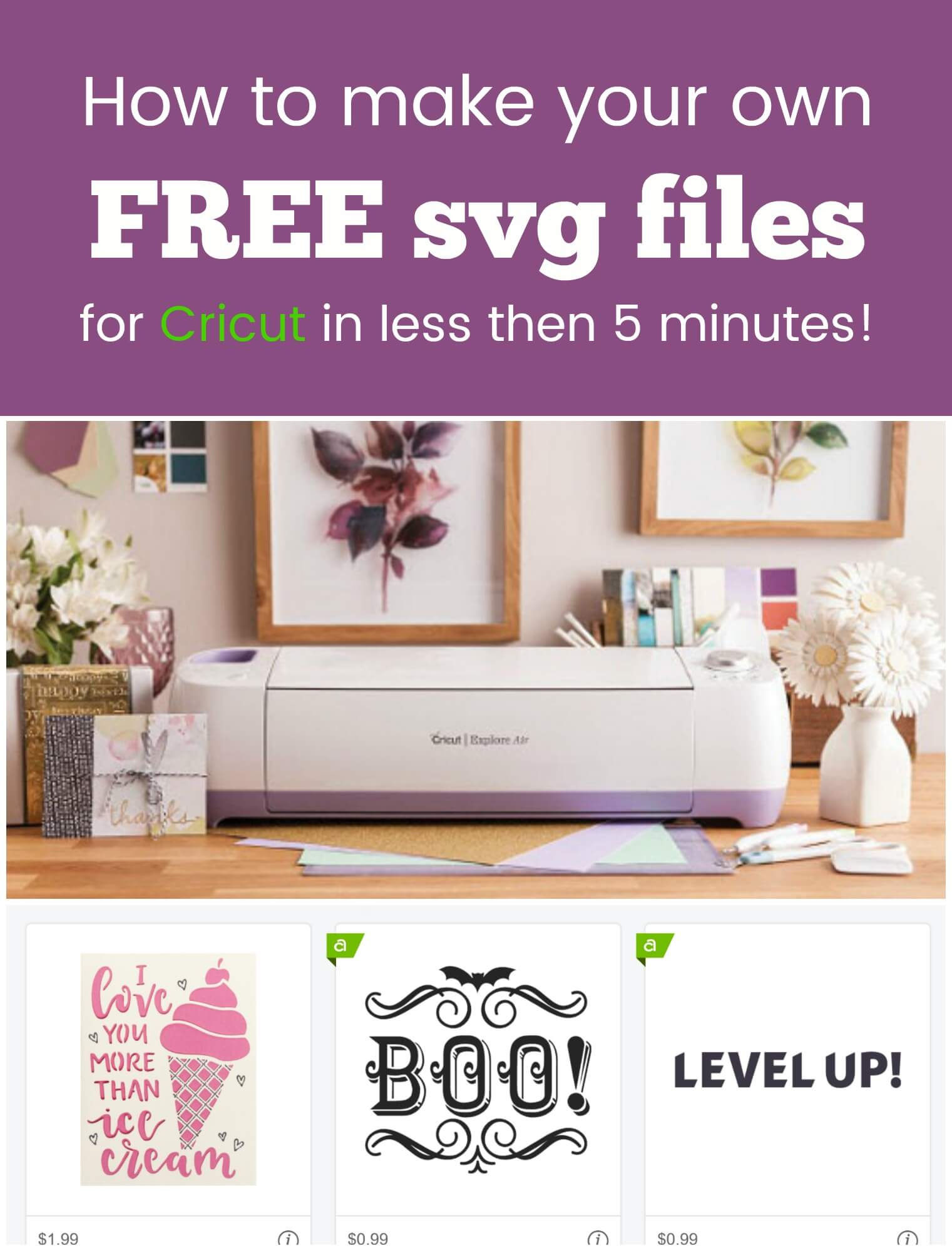 Convert an Image to SVG to use in Cricut Design Space