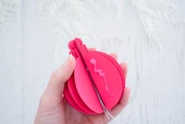 DIY Paper Ornament Tutorial