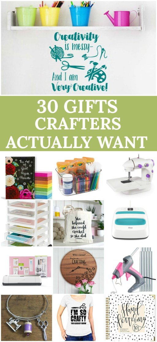 Gift Ideas For Crafters: 30 Brilliant Gifts for Crafters.