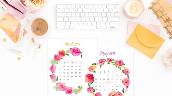 Free 2019 Printable Calendar: Download your free 2019 calendar