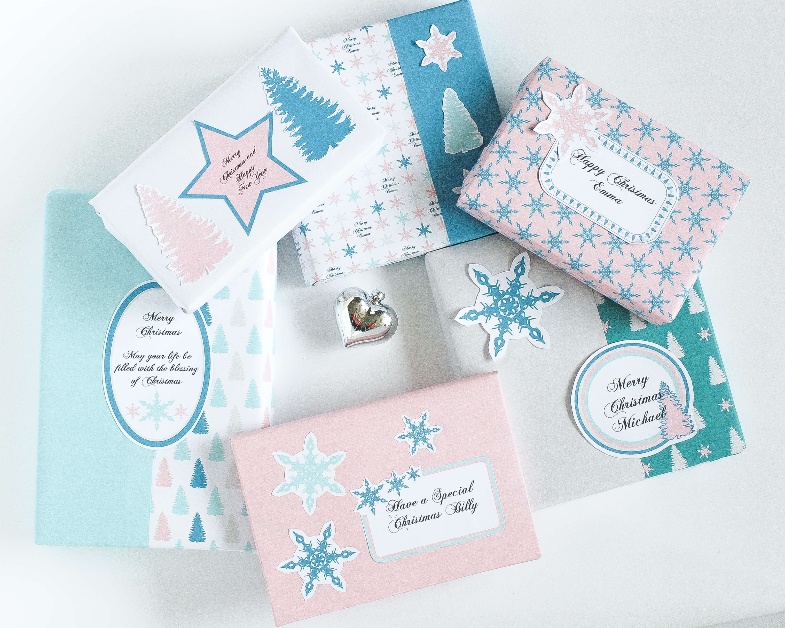 Free Printable Christmas Wrapping Paper: Instant Gift Wrap