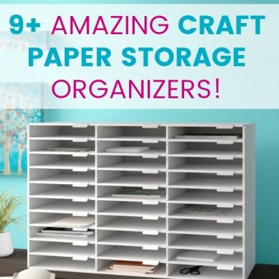 Craft Paper Storage: 9 Genius Ways to Store Your Craft Paper