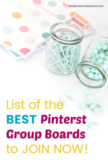 How to Join Pinterest Group Boards: Free List of Boards to Join. Learn how to join the best Pinterest group boards and get accepted.