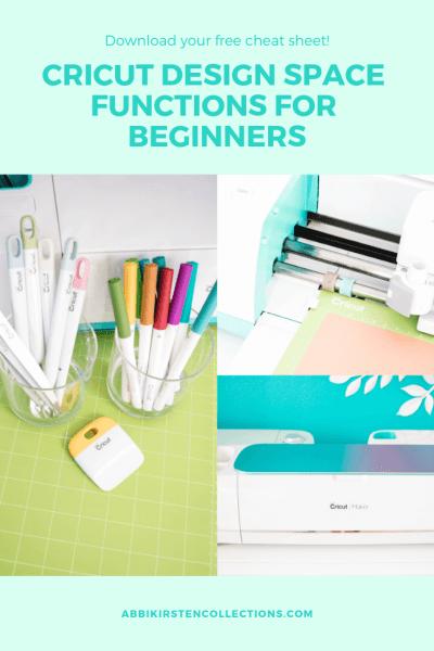 Cricut tutorials for beginners