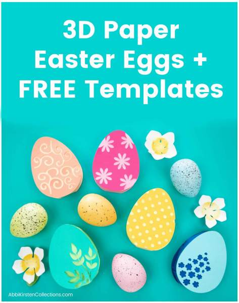 free Easter craft svg