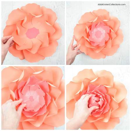How to Make Large Paper Peonies. DIY Tutorial