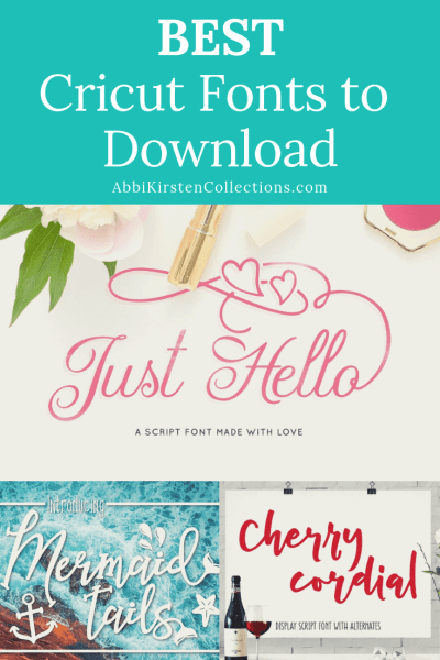 The Best Free Fonts for Cricut - Abbi Kirsten Collections