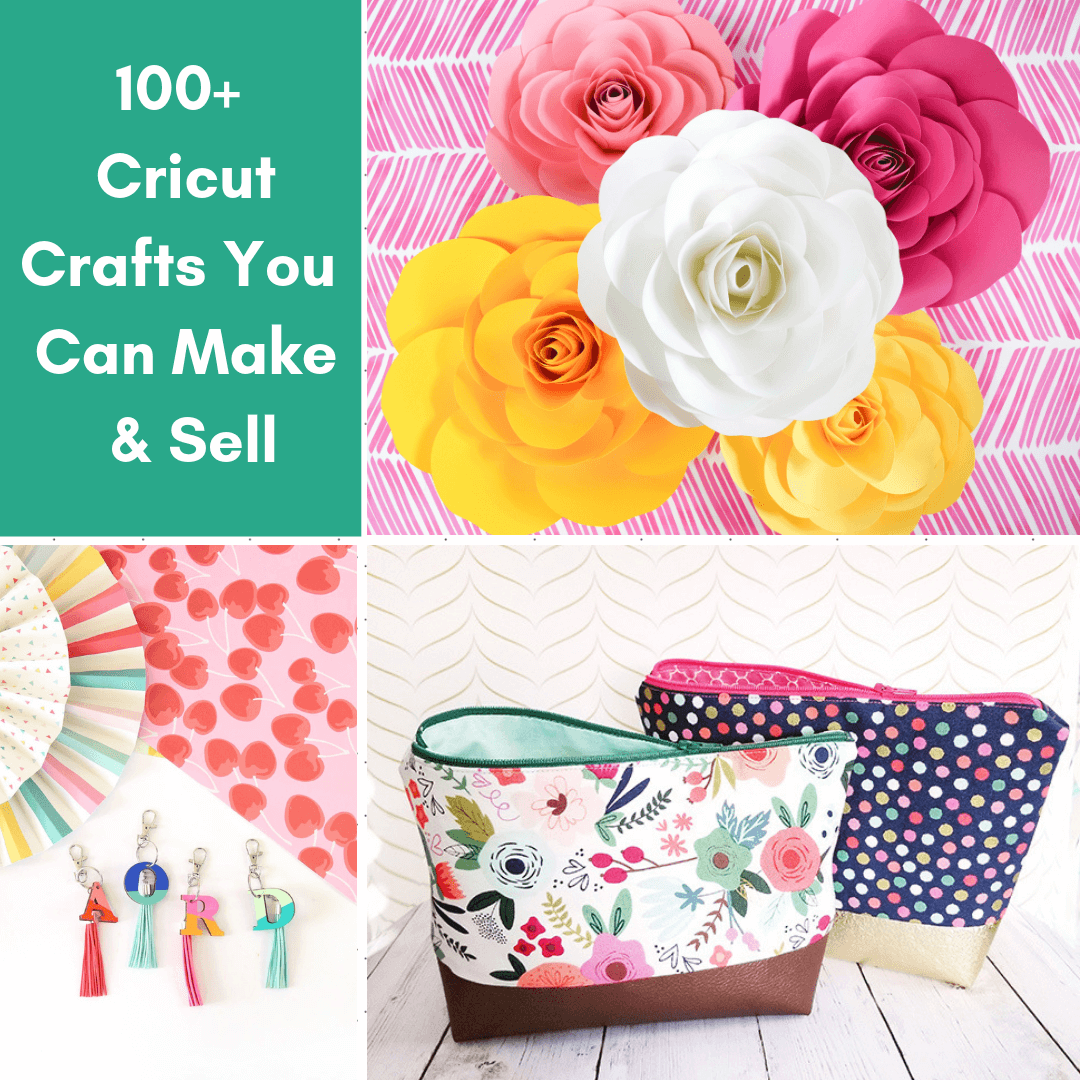 Over 100 of the Best Cricut Crafts to Make and Sell!