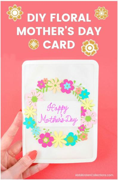 DIY card with free svg cut files
