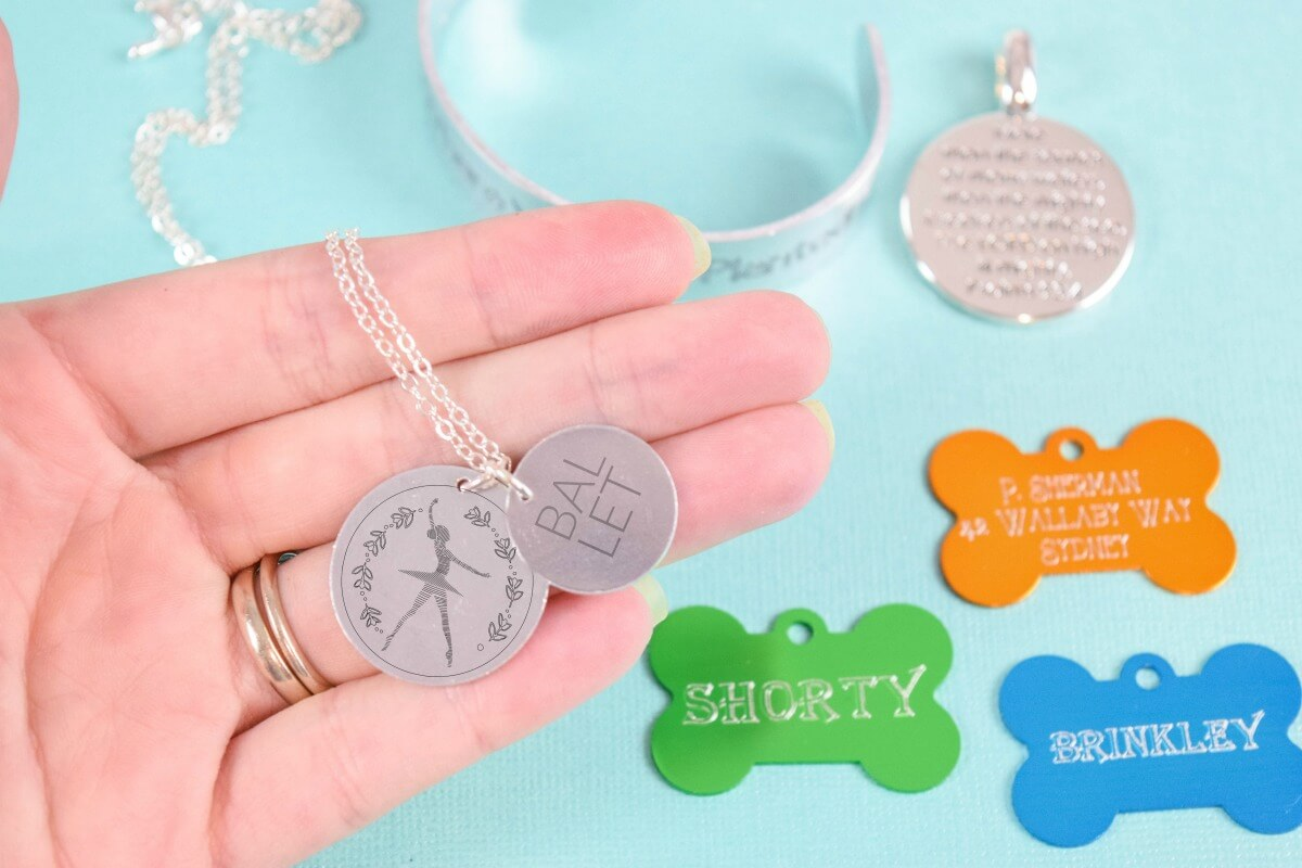 Engraving with Cricut Maker: How to Center Your Text and Add Fills for Bolder Engraving