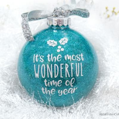 DIY Glitter Ornaments: The Easy Way to Make Your Own Custom Ornaments