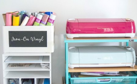 How to organize your cricut machines.