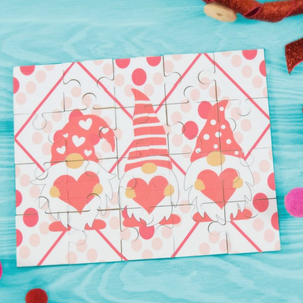 How to Make a Puzzle with Cricut – Free DIY Puzzle Template SVG for Cricut