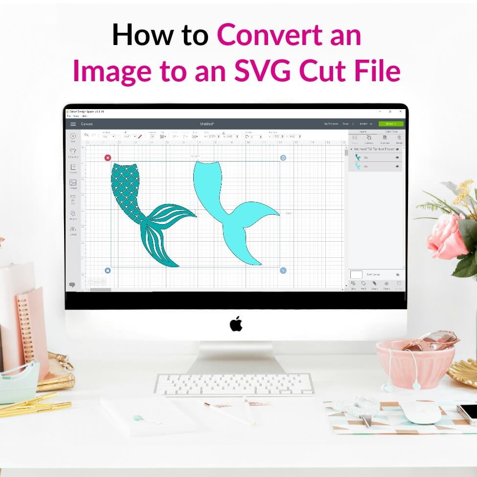 How to Convert an Image to an SVG Cut File for Cricut Design Space using Inkscape