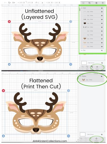 Learn the important difference between SVG cut files and how to Print Then Cut with a Cricut machine. SVG files verses PNG or JPEG images for Cricut crafts.