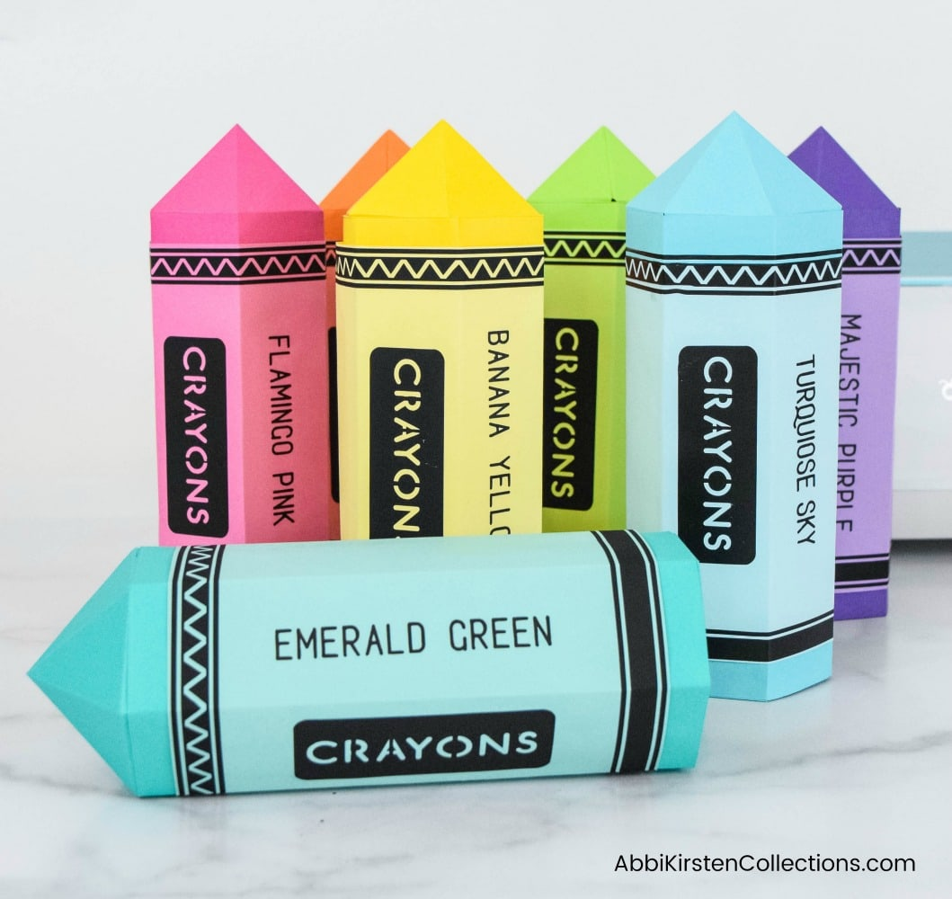 DIY Teacher Appreciation Gifts – Crayon and Pencil Gift Boxes for Teacher Gifts