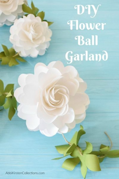 How to make paper flower balls.