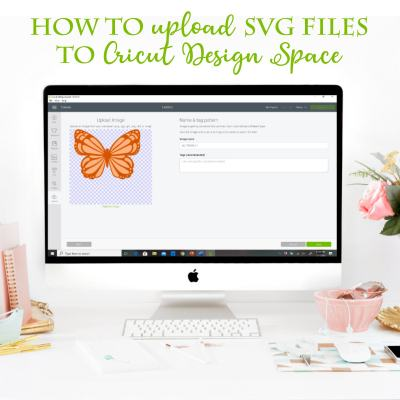 How to Upload SVG Files and  Images To Cricut Design Space