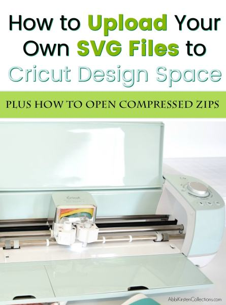 How to download and open zip files on Cricut Design Space.