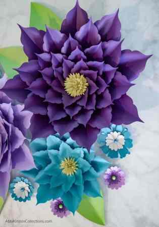 Make giant paper flowers.