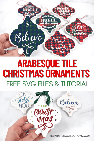 Free arabesque tile ornament svg cut files.