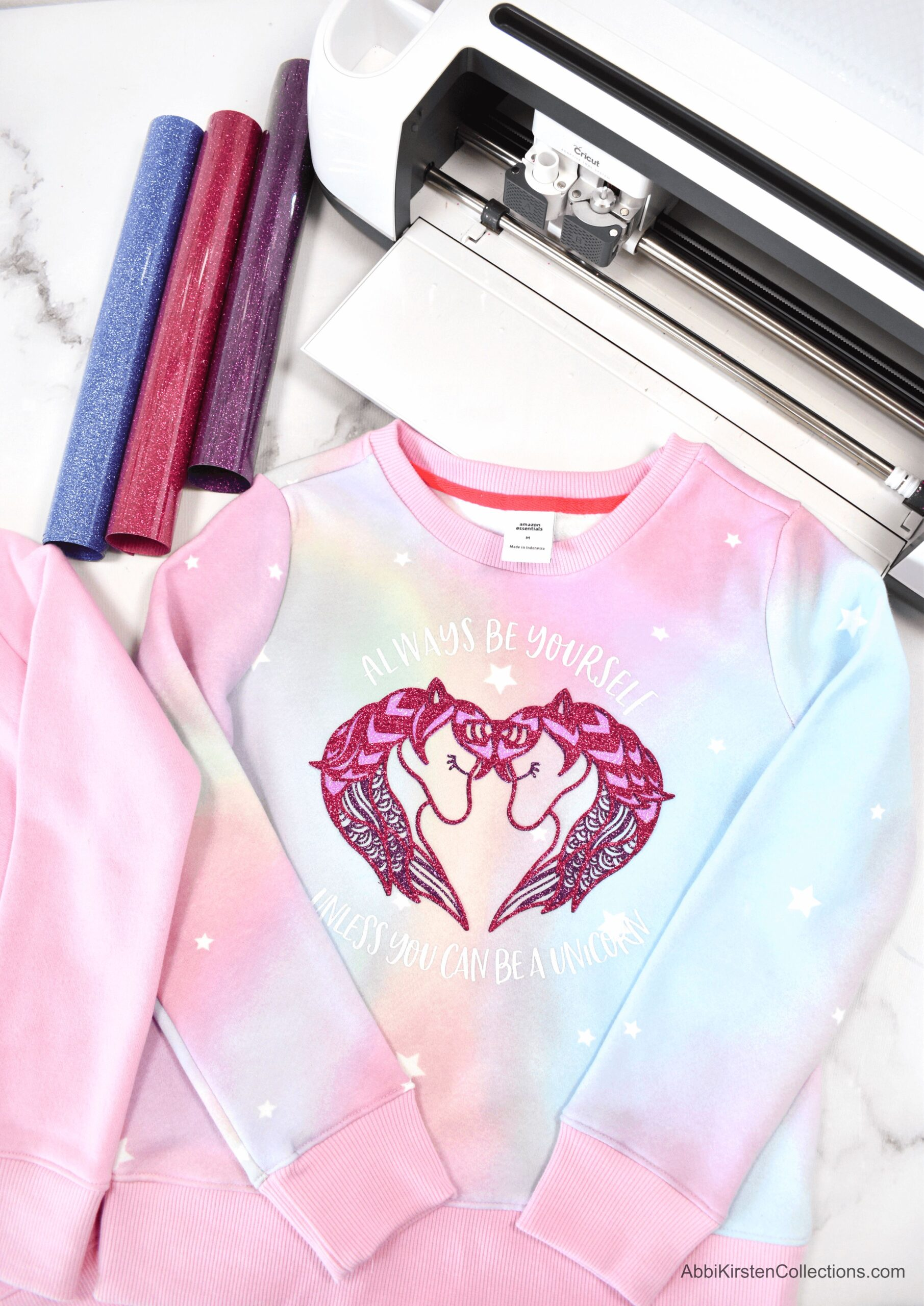 How to Layer Iron-On Vinyl on a Shirt with Cricut – Step by Step Tutorial
