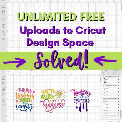 Cricut Design Space Update March 2021 – Upload Unlimited Number of Images Even with the New Change!