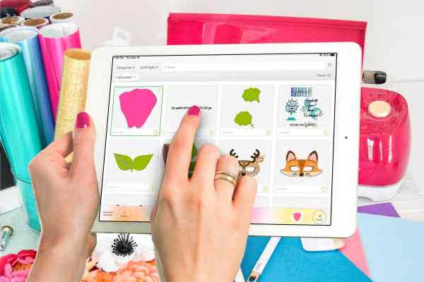 Cricut design space app for ios and android to help beginner's learn how to use Cricut design space