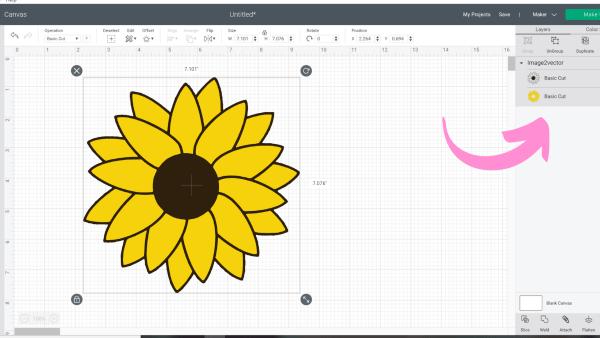 Using SVG files in Cricut Design SPace.