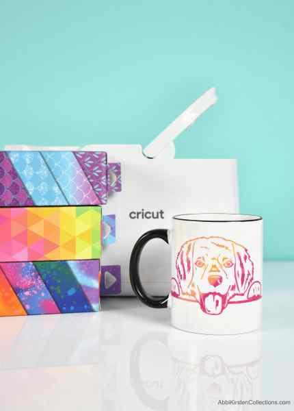 How to use the Cricut mug press.