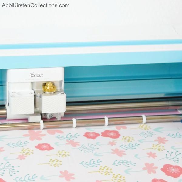 Can a Cricut machine cut fabric?