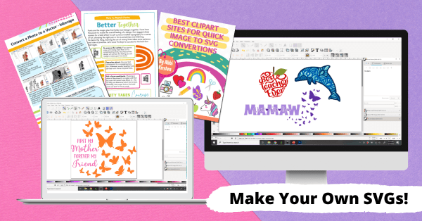 Learn to use Inkscape a free graphic software to design SVG cut files for Cricut or Silhouette cutting machines. Enroll in Free the SVG by Abbi Kirsten.