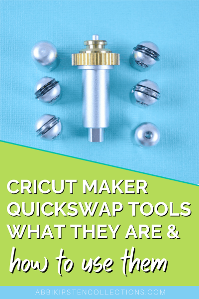 How to use the Cricut Quickswap Tools. Engrave, deboss, perforate and create wavy edges with the Cricut Maker Quickswap tools system.