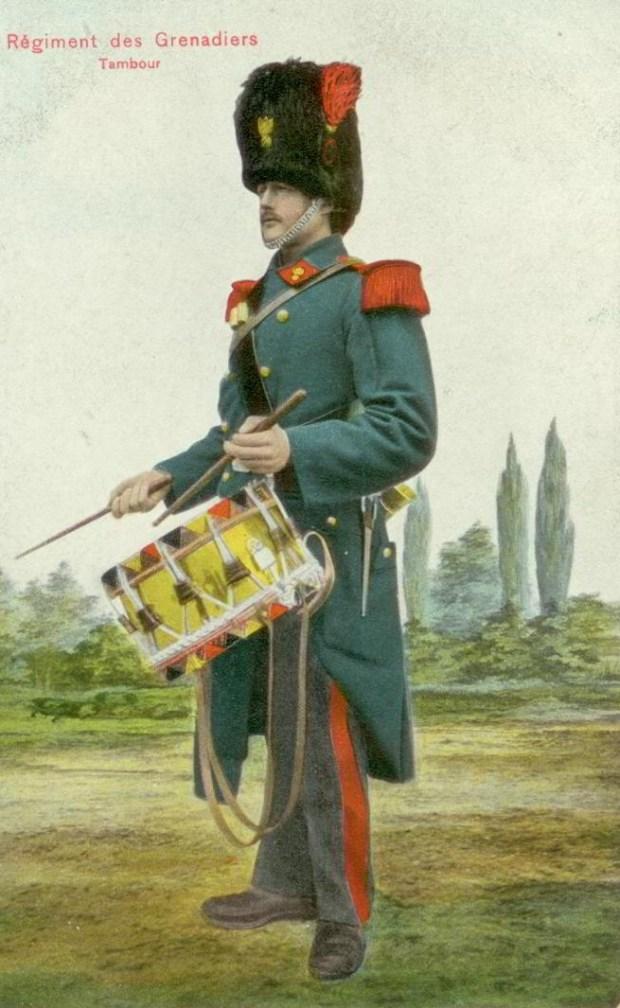 Trenkler Régiment des Grenadiers Tambour 001