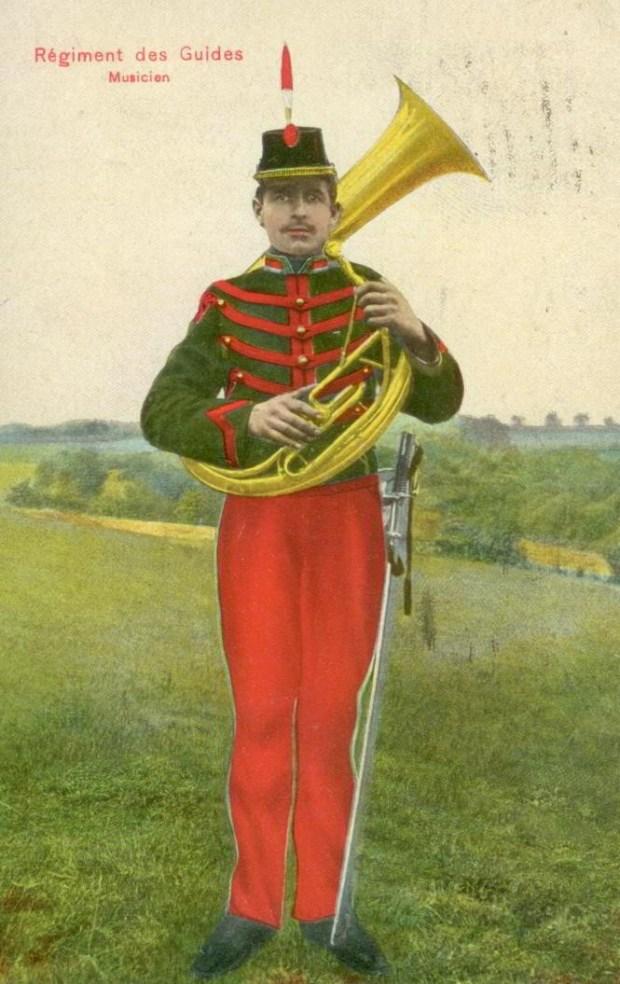 Trenkler Régiment des Guides Musicien 001