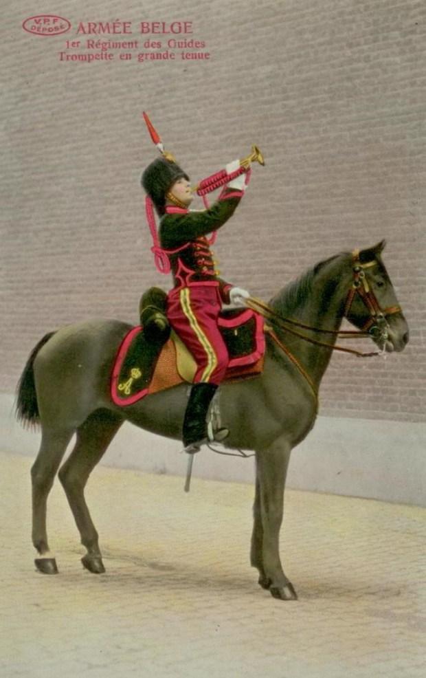 VPF 1 régiment des guides Trompette 001
