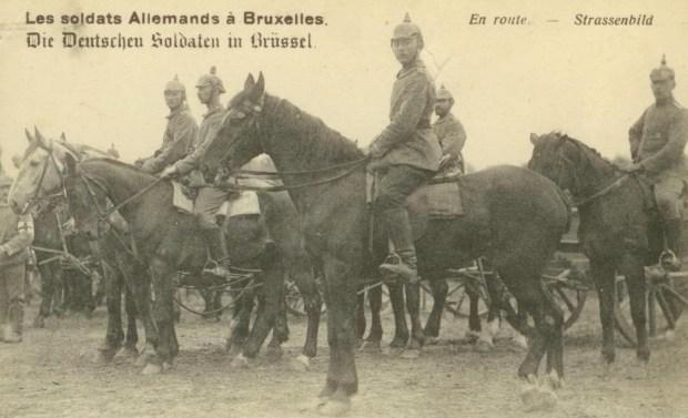 Die Deutschen Soldaten in Brüssel 001