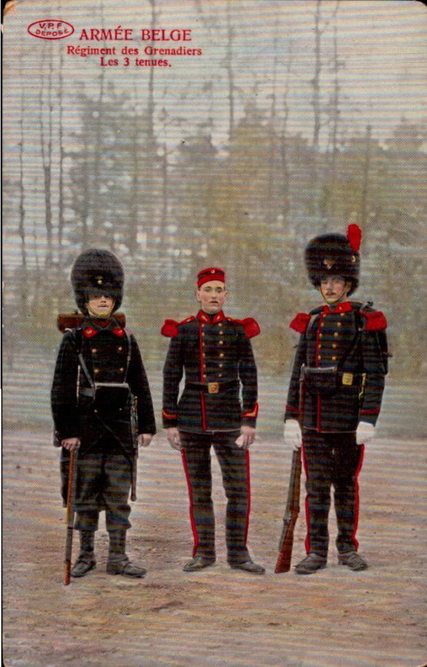 vpf-regiment-des-grenadiers-les-3-tenues