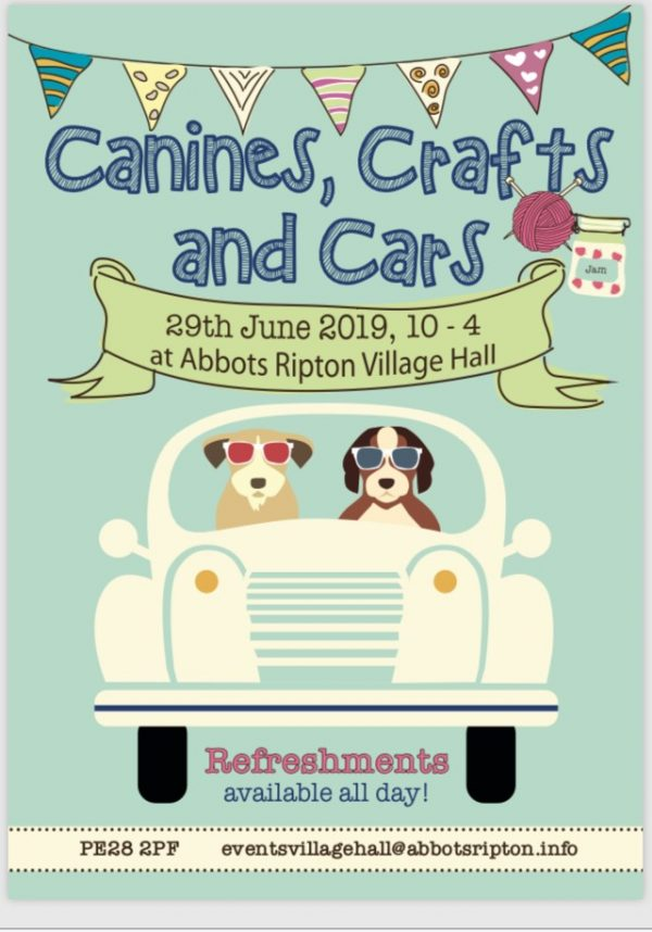 Canines, Crafts and Cars