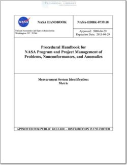 NASA-HDBK-8739.18 - Abbott Aerospace SEZC