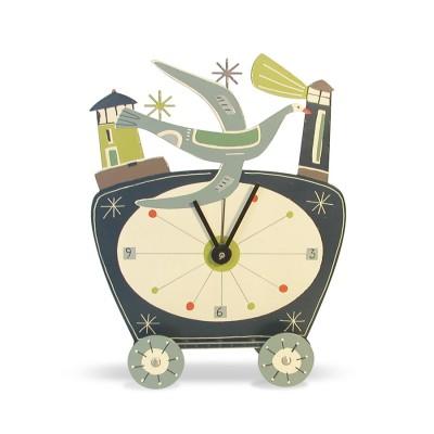 Abbott and Ellwood clock
