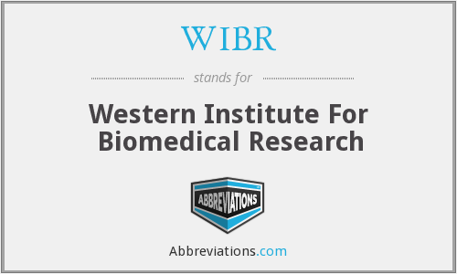 WIBR - Western Institute For Biomedical Research