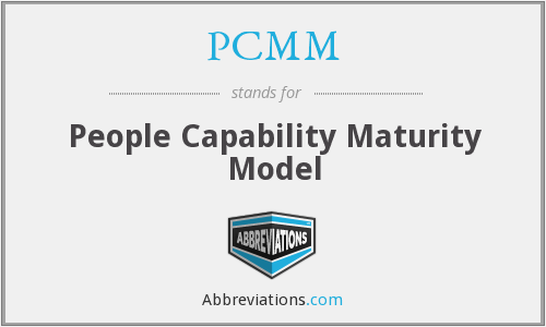 PCMM - People Capability Maturity Model