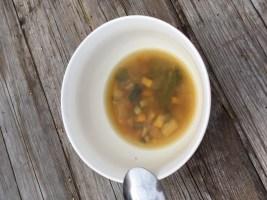 eigen gemaakte soep