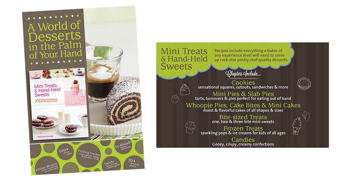 mini treats and hand-held sweets