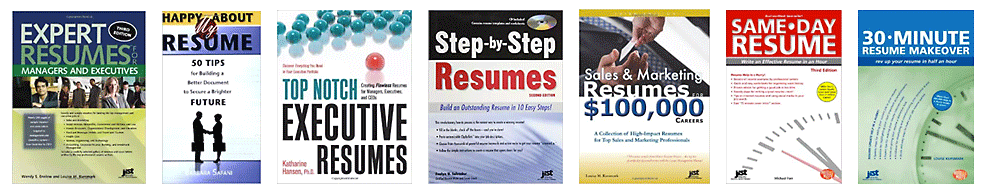 resume writing books