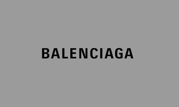 Balenciaga s'offre un nouveau logo